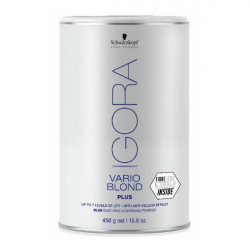 DECOL. IGORA VARIO BLOND PLUS 450 ML.